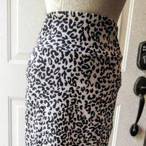 LulaRoe Size Small Animal Print New Pencil Skirt